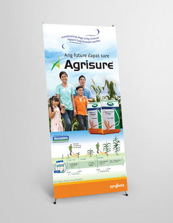 Syngenta Agrisure - standee